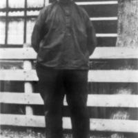 Foto van verteller Jan Lof (1856-1939) uit Zuiderwoude. Toegezonden door achterkleinzoon Jan Lof uit Broek in Waterland.